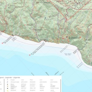 Flat Map 1:40,000 sample page